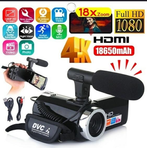 Câmera Youtubers Iniciantes Full Hd 24 Mega Pixels Importada
