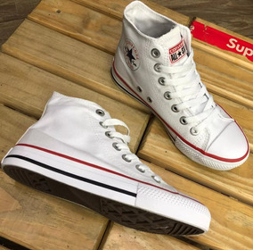 Tênis Converse All Star Cano Alto Branco Original