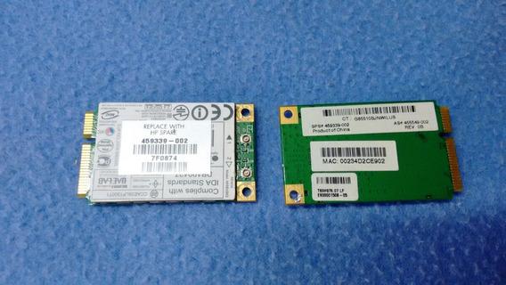 Placa Wifi Para Notebook Compaq F700 Hp Dv9000 459339-002