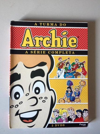 A Turma Do Archie - A Série Completa Dvd Duplo (clássico)