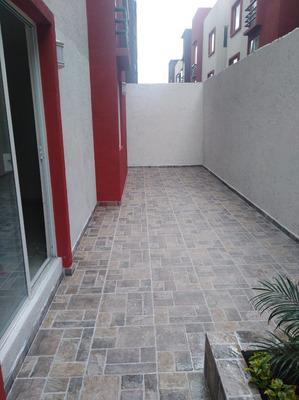 Departamento Con Terraza A 15 Minutos De Toluca