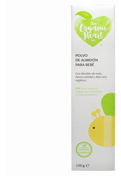 Polvo Orgánico De Almidón Para Bebé 150gr
