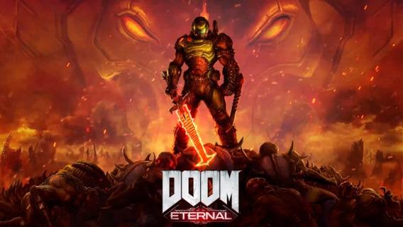 Doom Eternal Pc - Dvd + 1 Jogos Gratis