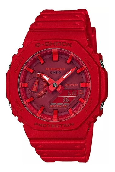 Reloj Casio G-shock Carbon Core Guard Ga-2100-4a Para Hombre