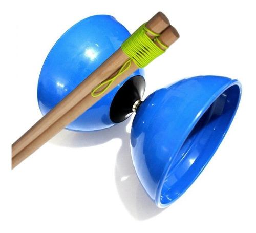 Set Diabolo Z Azul Semiprofesional + Clase Online Gratis
