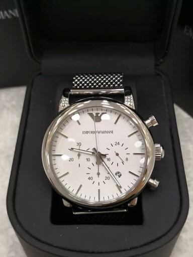 Relógio Armani Ar1808, 1 Ano De Garantia