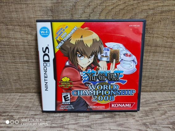 Yu Gi Oh World Championship 2008 + 3 Cards - Nintendo Ds
