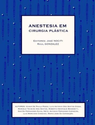 Livro - Anestesia Em Cirurgia Plástica