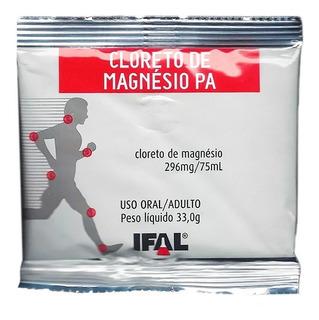 10 Und. Cloreto De Magnésio Pa Em Pó 33g - Ifal