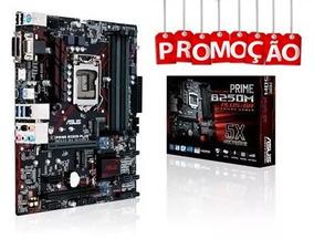 Kit Placa Mãe Asus Prime B250m + I3-7100 + 8gb Ddr4 Hyperx