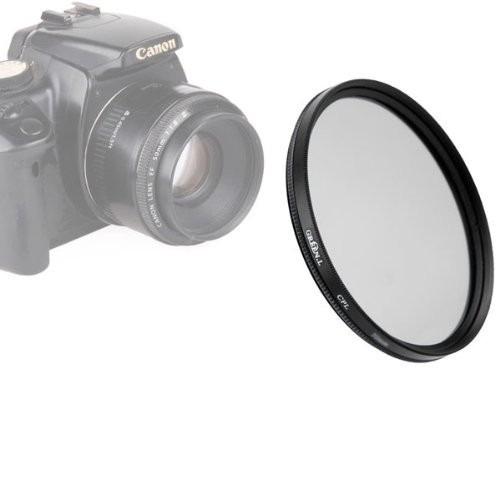 Filtro Polarizador Circular Cpl Para Lente 55mm Nikon Canon