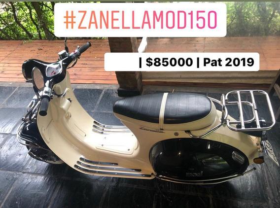 Zanella Mod 150 - 0km, Patentada 2019, Lista Para Transferir