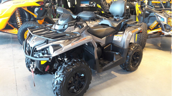 Cuatriciclo Can Am Outlander Max 570 Xt 2017 3550km Gris