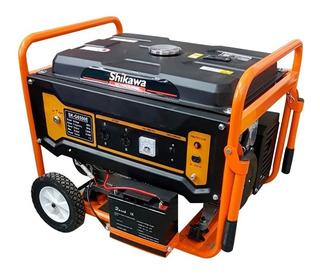 Generador portátil Shikawa SK-G6500E con tecnología AVR 220V