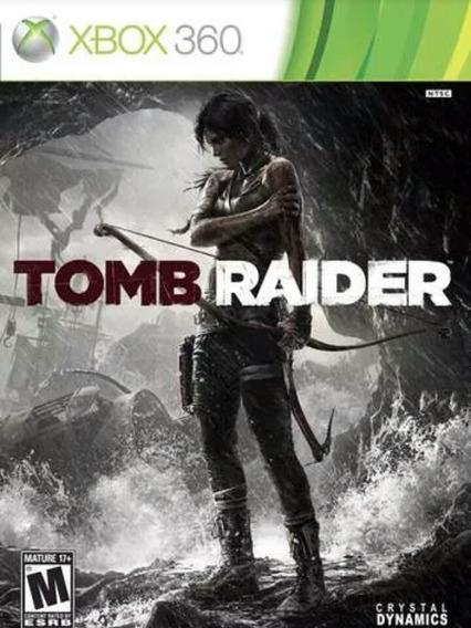 Tomb Raider Mídia Digital Xbox 360 Com Licença Liberada!