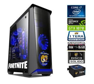 Pc Ultra Gamer Core I7 Gtx 1070 8gb Gd5 16gb Ram Ssd 700w