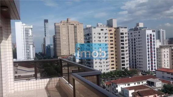 Cobertura Residencial À Venda, Aparecida, Santos. - Co0071