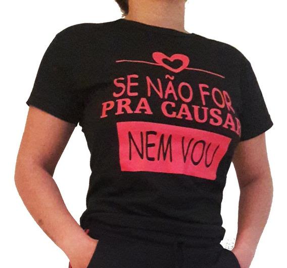 Kit 5 Camisa Camiseta Frases Diversas T-shirt Revenda