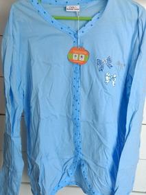 7cea4a936201 Ropa Mujer Camisas De Vestir - Pijamas Celeste en Mercado Libre ...
