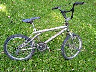 Bicicleta Bmx Rod 20 Cromada