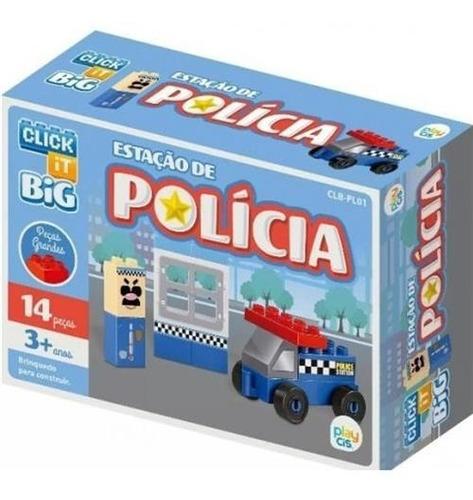 Bloco De Montar Click It Cis Big Estação De Polícia