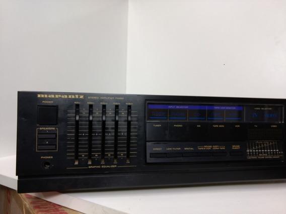Amplificador Marantz Pm 551 Mixer Tape Phono Cd Toca Fita