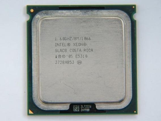 Processador Intel Xeon Quad E5310 Sl9xr 1.60ghz Lga 771