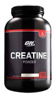 Creatine Powder 300 Gr Optimun Nutrition Creatina Monohidrato Black Line