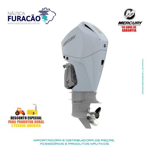 Motor De Popa Mercury 4 Tempos 200hp Xl Efi V6 Mec Branco