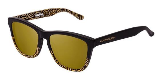 Gafas Keith Haring X Hawkers - Bicolor Gold Hombre Mujer