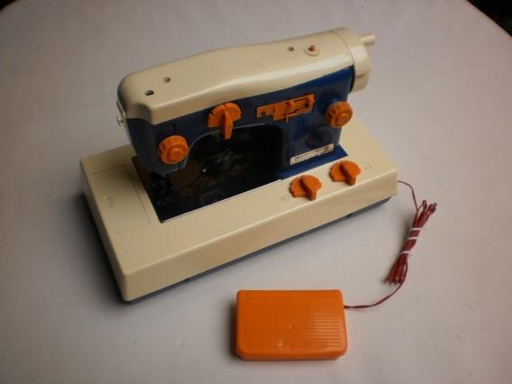 Mini Máquina Costura Boneca Susi Brinquedo Antigo Estrela Az