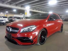 Mercedes Benz A45 Amg Aut. 2018 Rojo