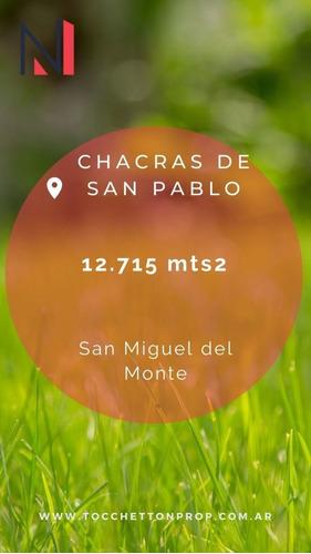 Terreno En Venta En Chacras De San Pablo