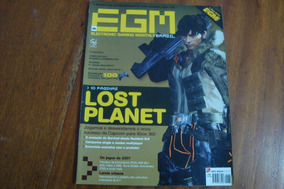Lrv Egm Brasil 60 / Lost Planet / Os Jogos De 2007 Lenda