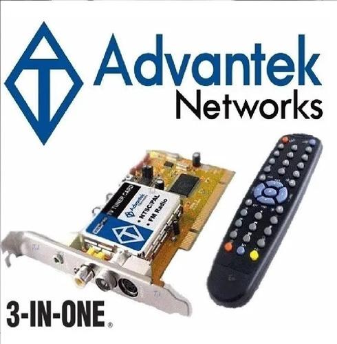 Tarjeta Pci Tv Tuner Advantek Capturadora Video Radio Fm