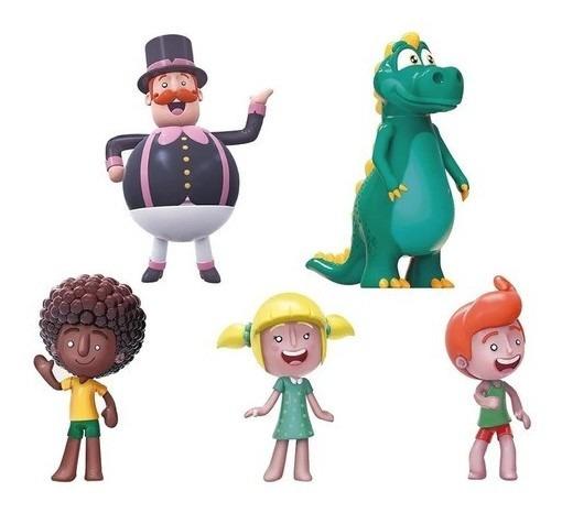 Coleção 5 Bonecos Da Família O Mundo Bita Tito Dan Lila Dino