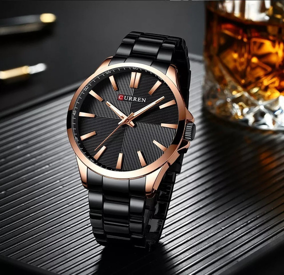 Relógio Masculino Curren Luxo Original 8322