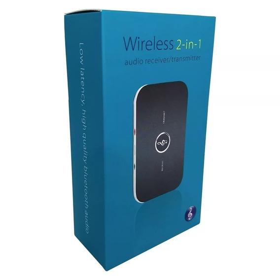Receptor E Transmissor Bluetooth 2-in-1- 4.1 Wireless Novo