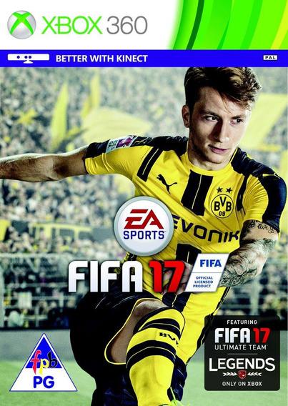 Fifa 17 Xbox 360 Midia Digital Envio Na Hora