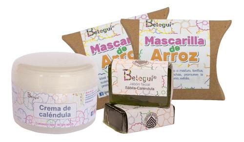 Kit Calendula Piel Sensible, Delicada (eczema O Dermatitis)