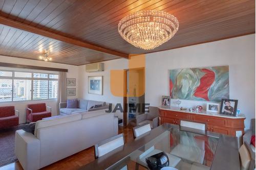 Apartamento Para Venda No Bairro Higienópolis Em São Paulo - Cod: Ja1603 - Ja1603