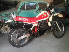 Honda Xl 250r 1983 Placa Preta