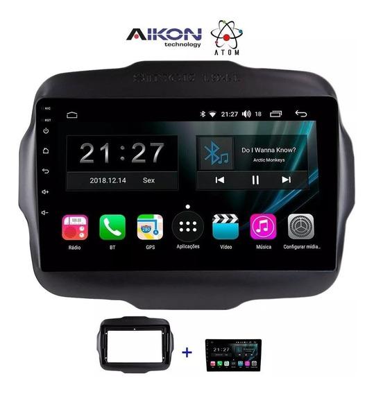 Multimídia Aikon Atom Android 9.0 Tv Renegade Pcd 2019 2020