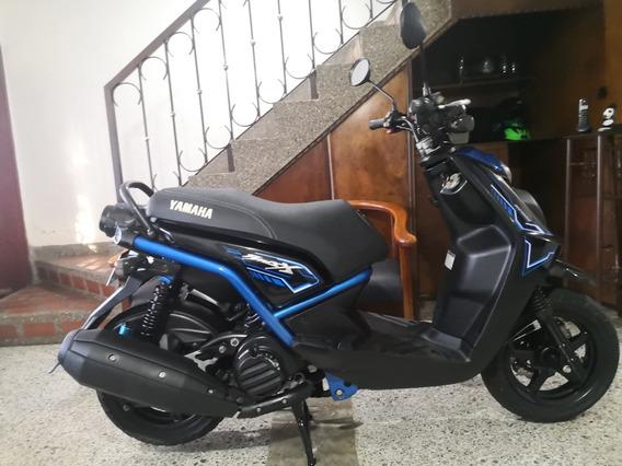Yamaha Bws X Modelo 2017, Única Dueña, Papeles Nuevos.