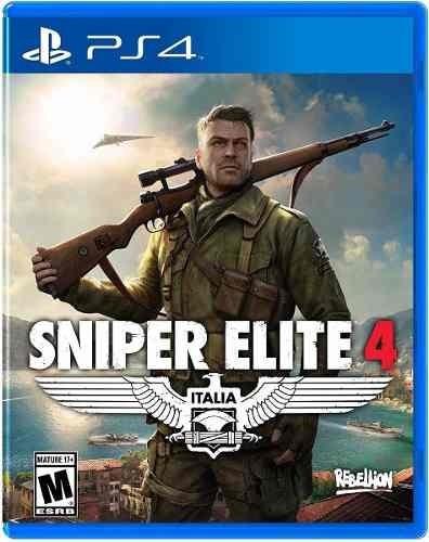 Sniper Elite 4 Ps4 Disco Fisico