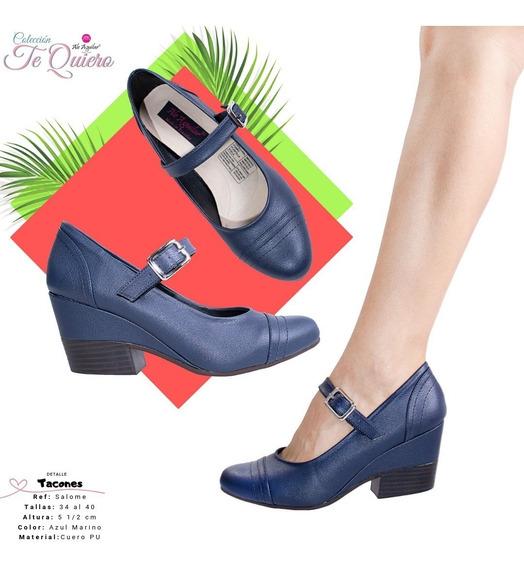 Zapatos Para Mujer Tacones 5 Cm Tallas Desde 34 Hasta 40