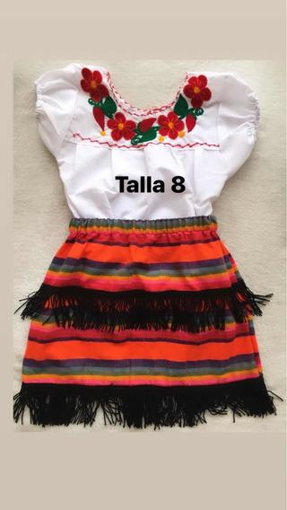 Vestidos, Faldas Y Blusas Diseño Mexicano