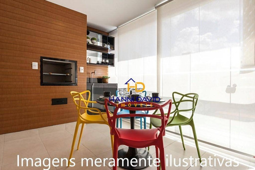 Lindo Apartamento Á Venda Nunca Habitado, No Contra Piso,  Varanda Gourmet, Lazer Completo. - Ap2973