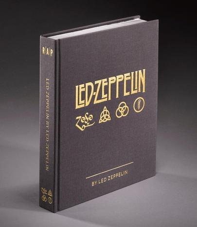 Livro Led Zeppelin By Led Zeppelin Novo Aniversário 50 Anos