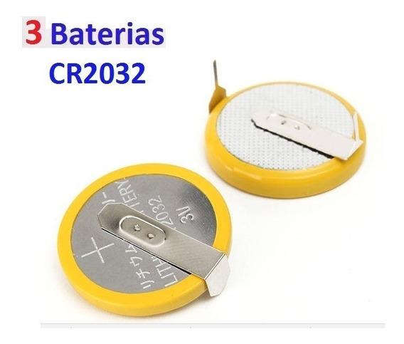 3 Baterias Cr2032 Cartucho N64 Mega Drive Snes C Pinos Solda